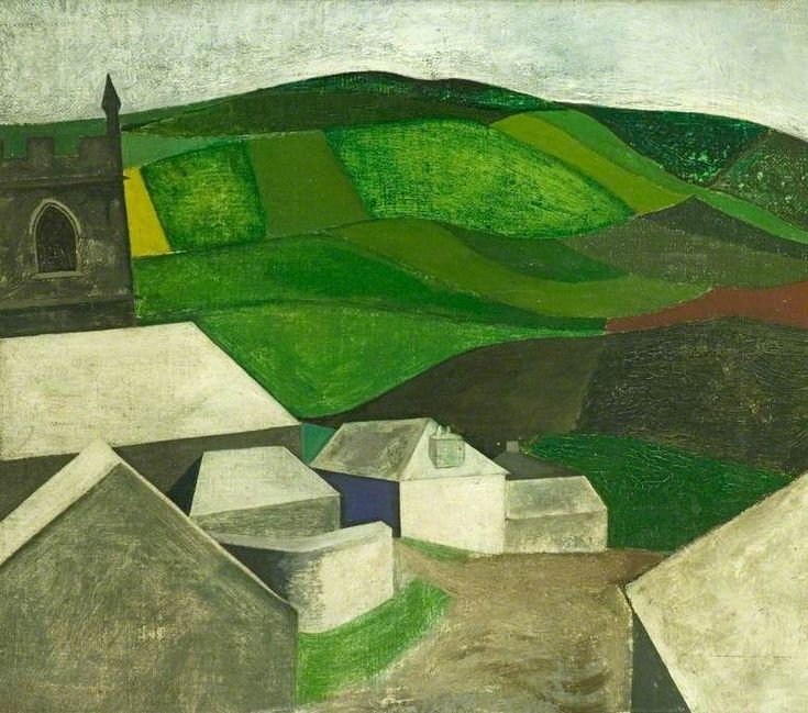 'ZENNOR, CORNWALL' (1950) | David Haughton     ✫ღ⊰n