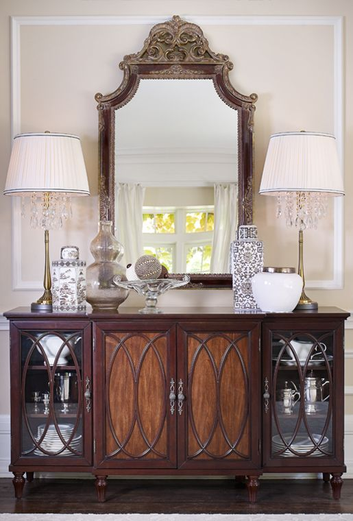 17 best images about sideboard decor on pinterest for Kitchen cabinets lowes with bombay company wall art