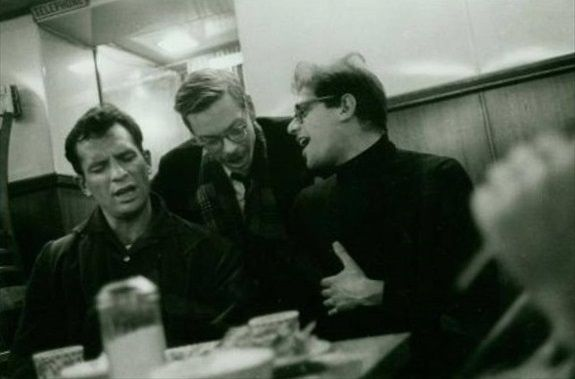 Jack Kerouac, Lucien Carr, and Allen Ginsberg