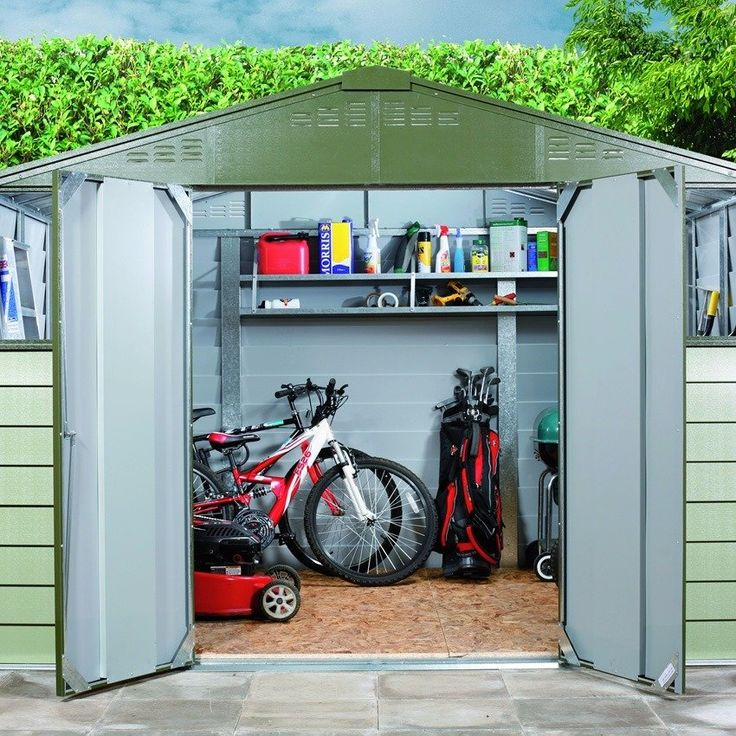 Amazing Being The Largest Size Within The Trimetals Titan Shed Range, The 10ft Wide  By 8ft