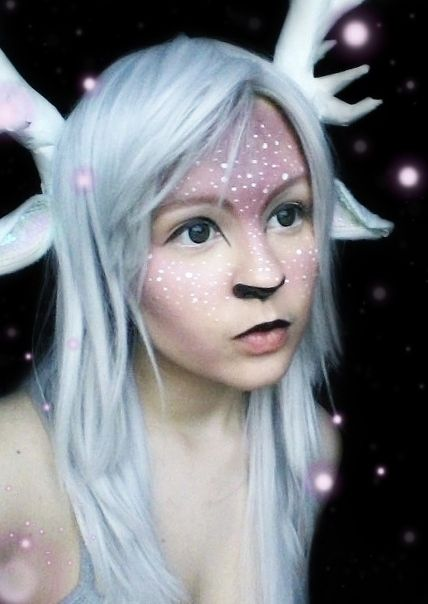 White Fawn Makeup 02 by ChristinaUshi