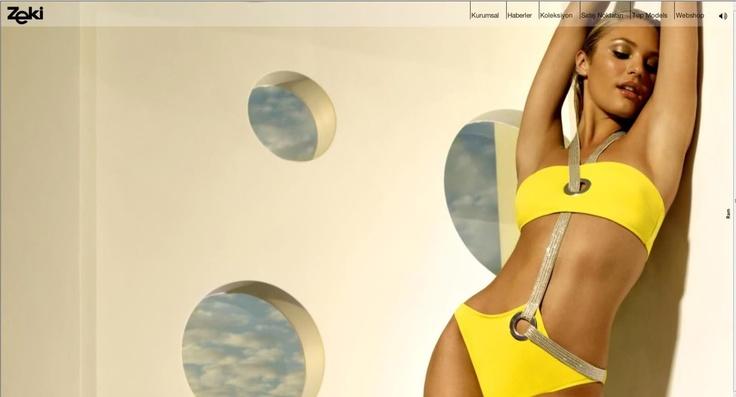 Zeki triko, yellow bikini
