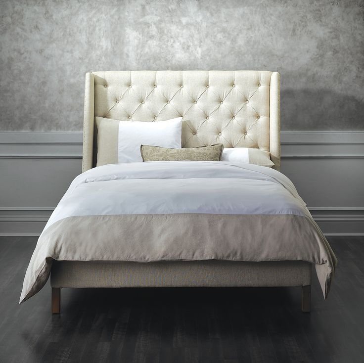 In A Subtle Mix Of Minimal Modern Design And Classic Wingback Style Our Fred Astaire Classic Bedroom Furnituredump