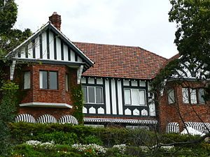 Australian architectural styles -Old English style c1935