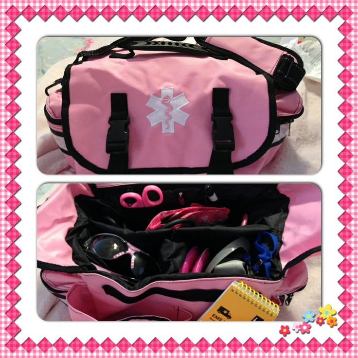 Love my new PINK EMT bag