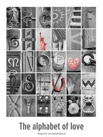 Poster: Fotobuchstaben A-Z (€ 10,00 inkl. MwSt, zzgl. Versand)