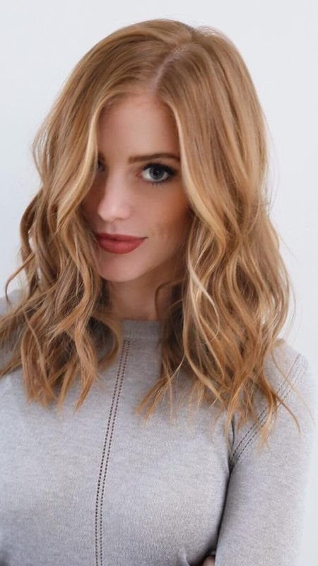 Yummy Strawberry Hair Colors and Hairstyles 2019