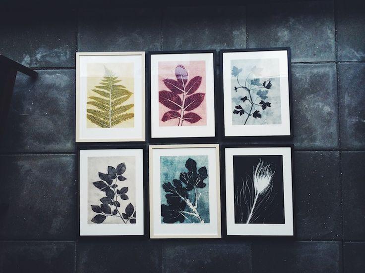 I dag præsenterer vi smukke botaniske tryk - Pernille Folcarreli #botanik #botanisketryk #pernillefolcarreli