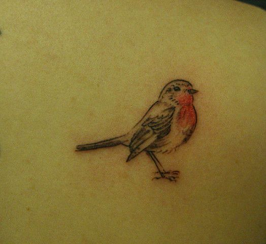 robin ~ I think, with my quickly growing obsession with tiny bird tattoos, that I'm likely to get one in the future.