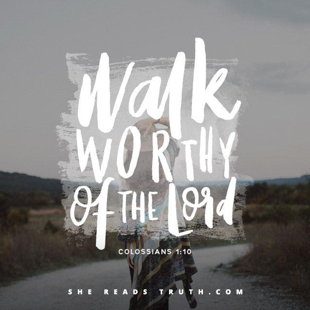 Day 2 of the Colossians reading plan from She Reads Truth | Walk Worthy Join us at SheReadsTruth.com or on the SRT app!