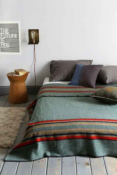 Pendleton Camp Blanket - rustic without looking ridiculous.