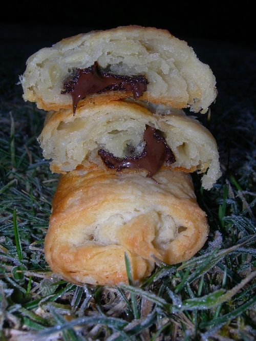 pains au chocolat bons comme à la boulangerie en 15mn