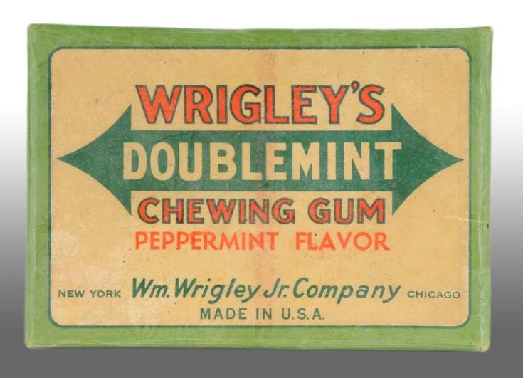 Image result for doublemint chewing gum in the 1950's
