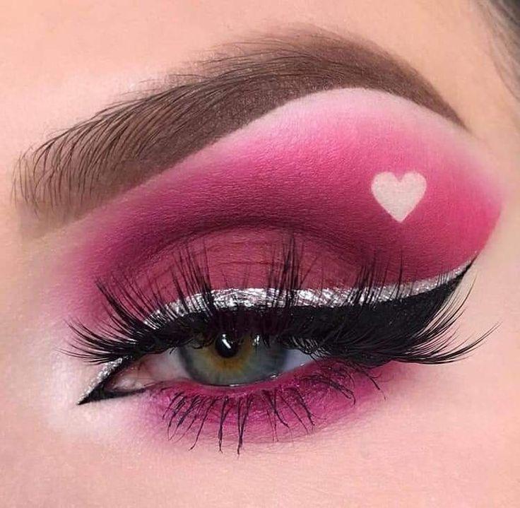 там картинки макияж глаз простые части любили