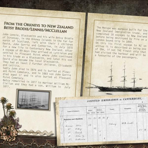 interesting use of genealogy info and photos