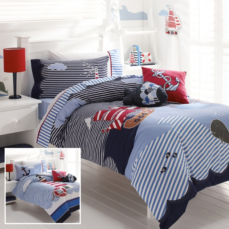 10 best images about nautical bedroom on pinterest for Boys nautical bedroom ideas