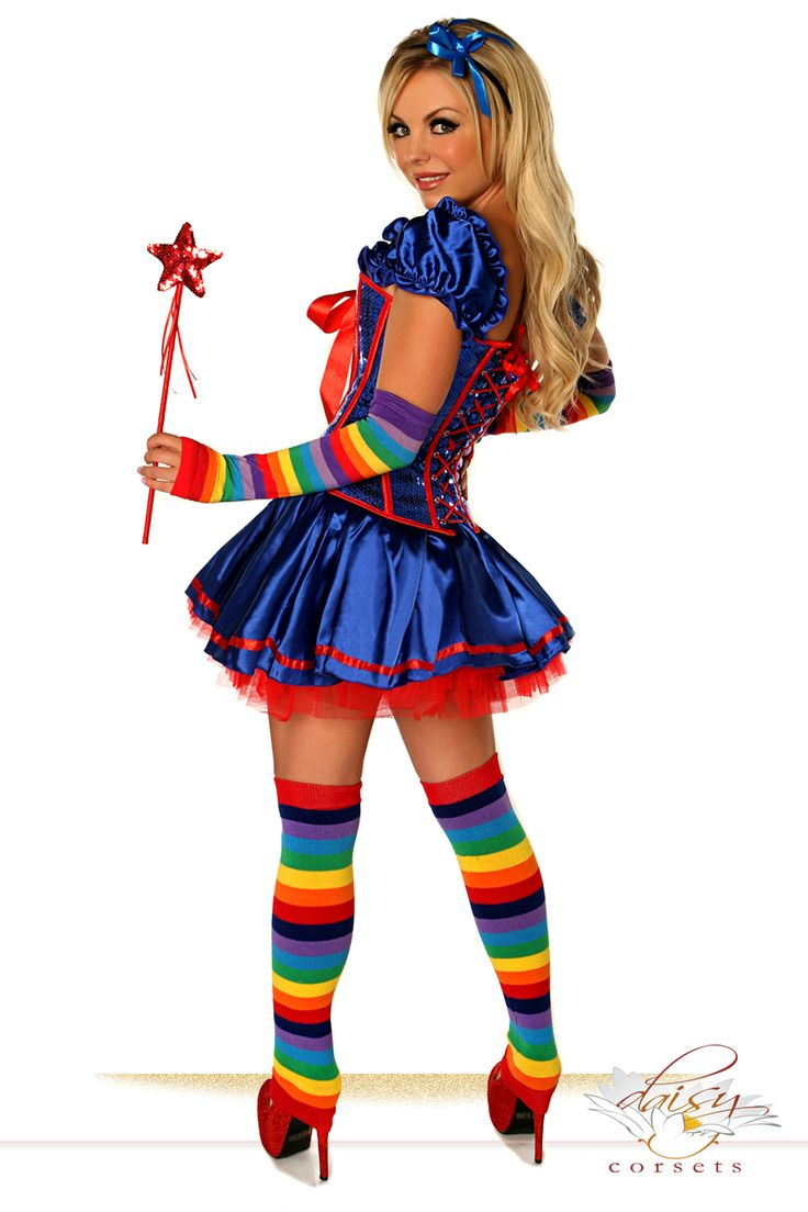 Image result for rainbow bright costume