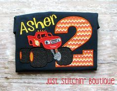 Blaze and the Monster Machines Inspired by JustStitchinBoutique