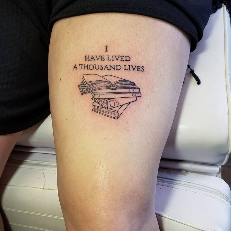 45 Charming Book Tattoo Designs Ideas For Bookworms