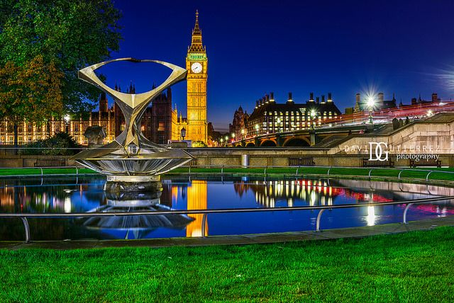 """""""Kinetic II"""" Big Ben, London, UK. Image by David Gutierrez Photography, London Photographer. London photographer specialising in architectural, real estate, property and interior photography. http://www.davidgutierrez.co.uk #realestate #property #commercial #architecture #London #Photography #Photographer #Art #UK #City #Urban #Beautiful #Interior #Arts #Cityscape #Travel #Building #River #Bridge #Night #Twilight #Street #BigBen #Thames #Westminster #Reflection"""