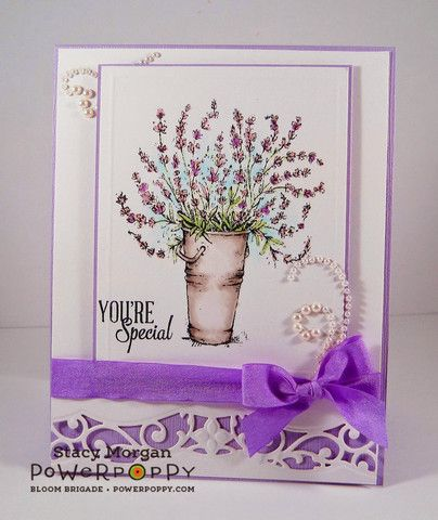 """The heart of every perfect summer forever captured in the sweet, cool, refreshing scent of lavender."" Excerpt from Lavender, Sweet Lavender by Judyth A. McLeod A stamp set inspired by that most endur"