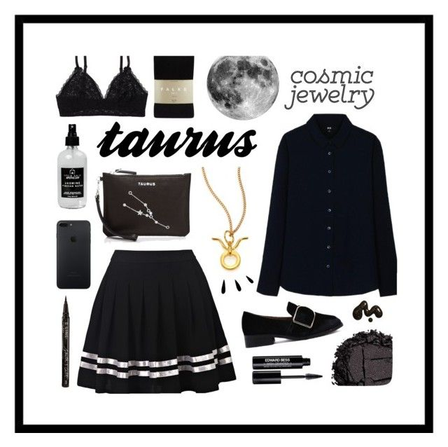 """""""t a u r u s"""" by bumblingbees ❤ liked on Polyvore featuring Aerie, Uniqlo, Chloé, Etienne Aigner, Urban Decay, Edward Bess, Falke, Little Barn Apothecary, Smith & Cult and Old Navy"""