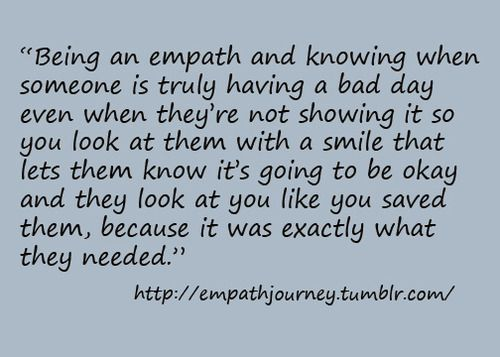 If you are an empath, you know this.