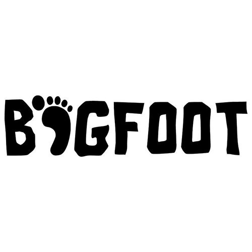 Bigfoot die cut vinyl decal pv291