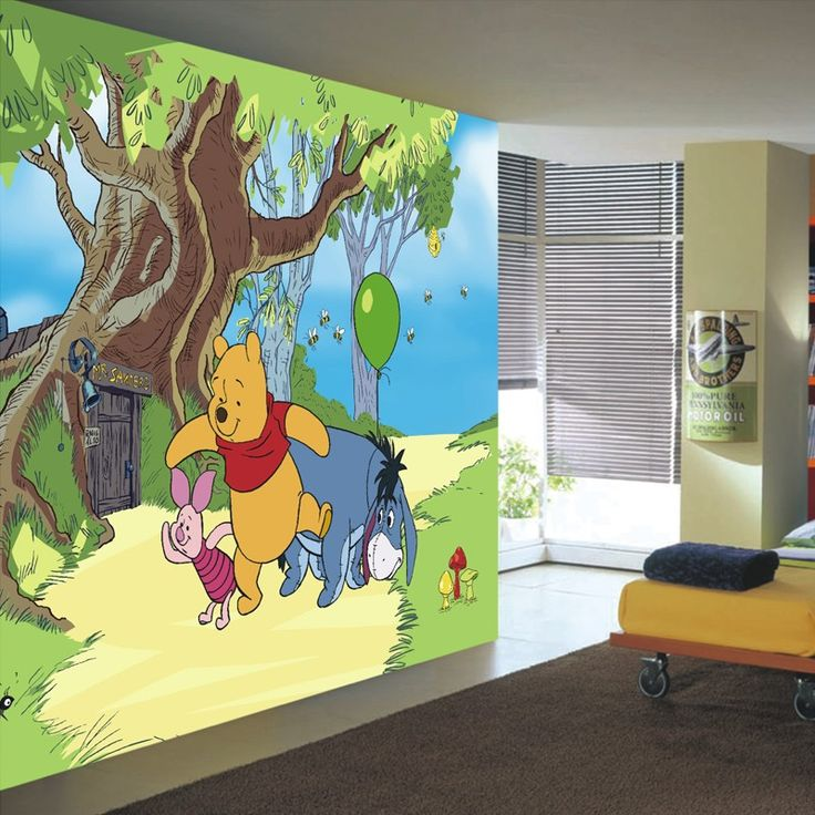 disney winnie the pooh and friends wallpaper - Chambre Winnie Lourson