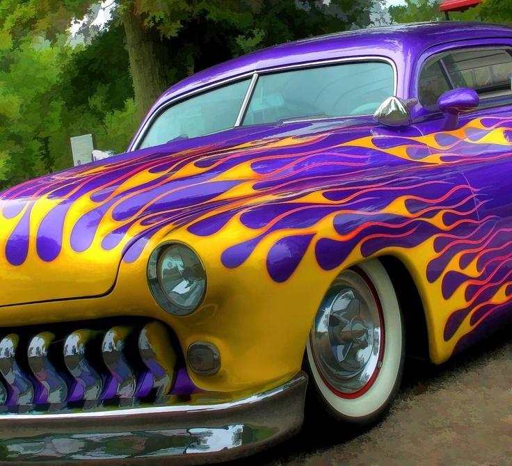 296 best Hot Rod Flames images on Pinterest | Bespoke cars, Car ...