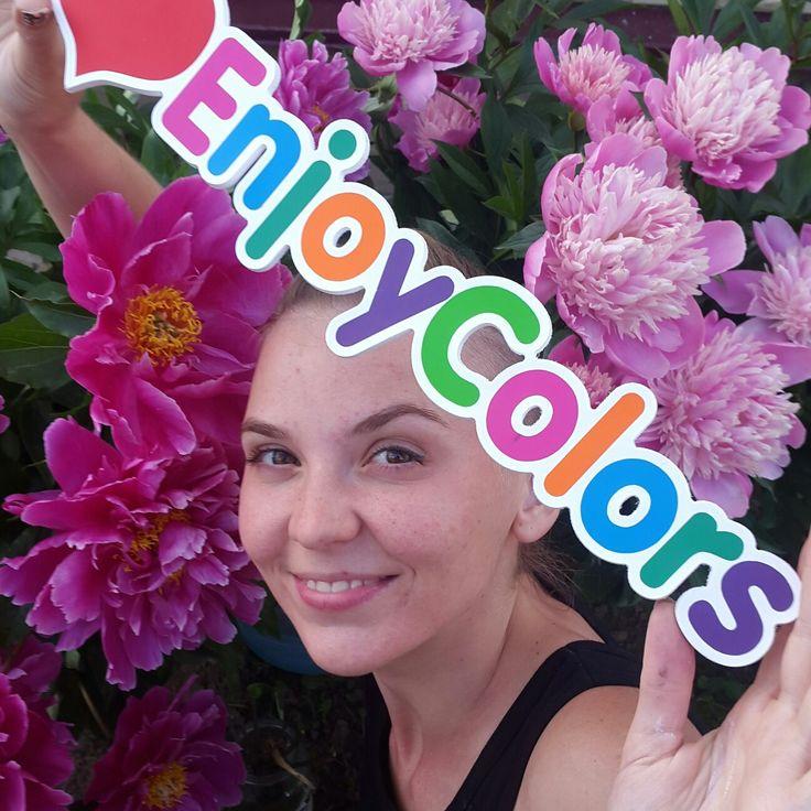 Я и лого, #enjoycolors