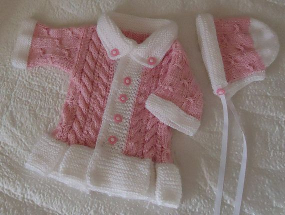Yeni Doğan Kız Bebek İçin Örgü Modelleri, kız bebek örgüleri, Knitting Patterns for Baby Girl, Dikkat çekici el örgüsü örnekli hırkalar, yün elbise modelleri, bebek takımları