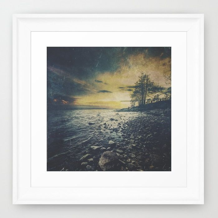 Dark Square Vol. 1 Framed Art Print