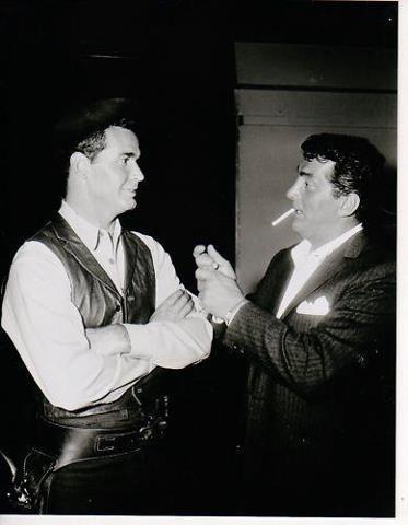 James Garner and Dean Martin