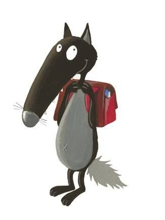 17 best images about loup maternelle on pinterest tes - Petit loup dessin ...