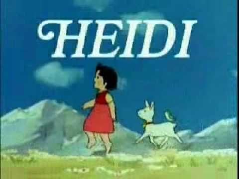 Abuelito dime tú - (Heidi) Anime intro song for the Spanish speaking market. Mexico.