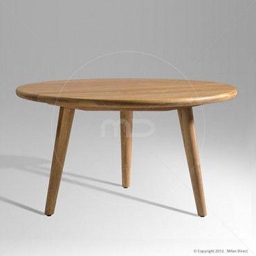 $649. Hans Wegner CH008 Coffee Table Replica - Oak - Milan Direct
