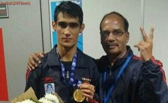 Sachin Siwach settles for a silver medal at Asian Youth Boxing Championship