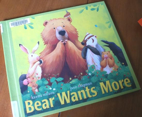 38 best bear wants more activities images on pinterest for Storybook nanny