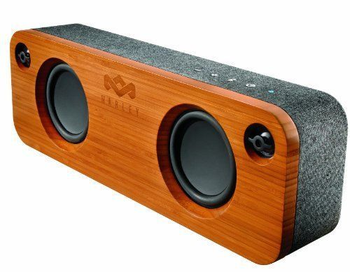 The House of Marley Get Together Portable Bluetooth Audio System features amazingly detailed audio performance from the two-channel, two-way design. The Get Together system is housed in a custom-tuned bass-reflex enclosure with a solid bamboo baffle and REWIND covered rear housing. | eBay!