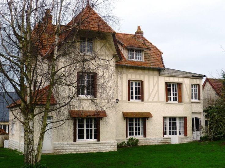 Villa Anglonormande à vendre Bord de mer Dieppe Quiberville 4579 Nos biens - Immobilier Seine Maritime Côte d'Albâtre (Eure), Leforestier Immobilier
