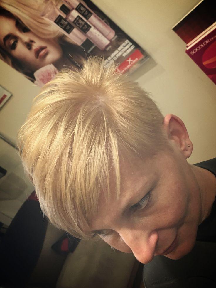 #MatrixGlobal #MatrixColor #Blond #ShortCut #patkospy #pixie #UL