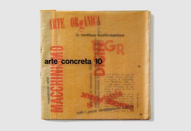 Bruno Munari – Arte Concreta 10, MAC bulletin, 1952