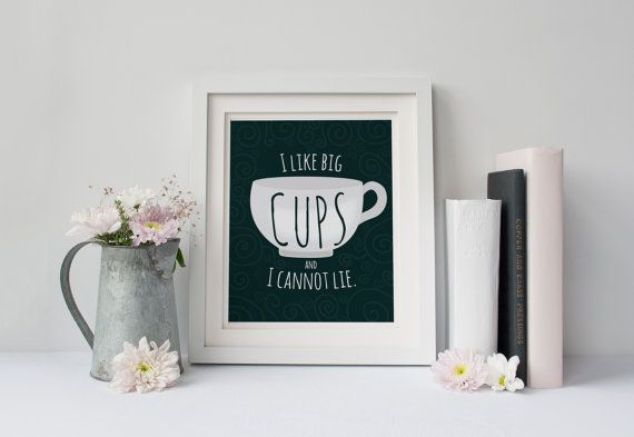I like big cups and I cannot lie.  Coffee by perfectadditions