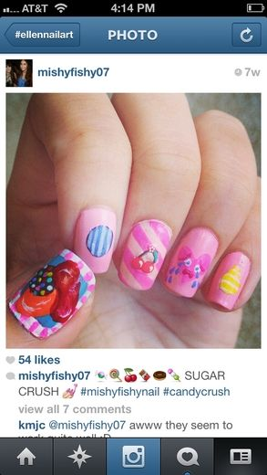 Sent via Instagram by @mishyfishy07 Send us your Awesome Nail Art
