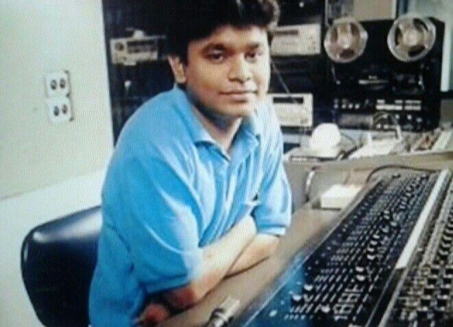 A. R. Rahman, young