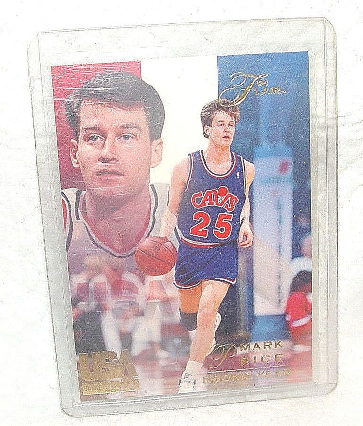 1994 FLEER CORP.#85-MARK PRICE-ROOKIE YEAR-USA BASKETBALL