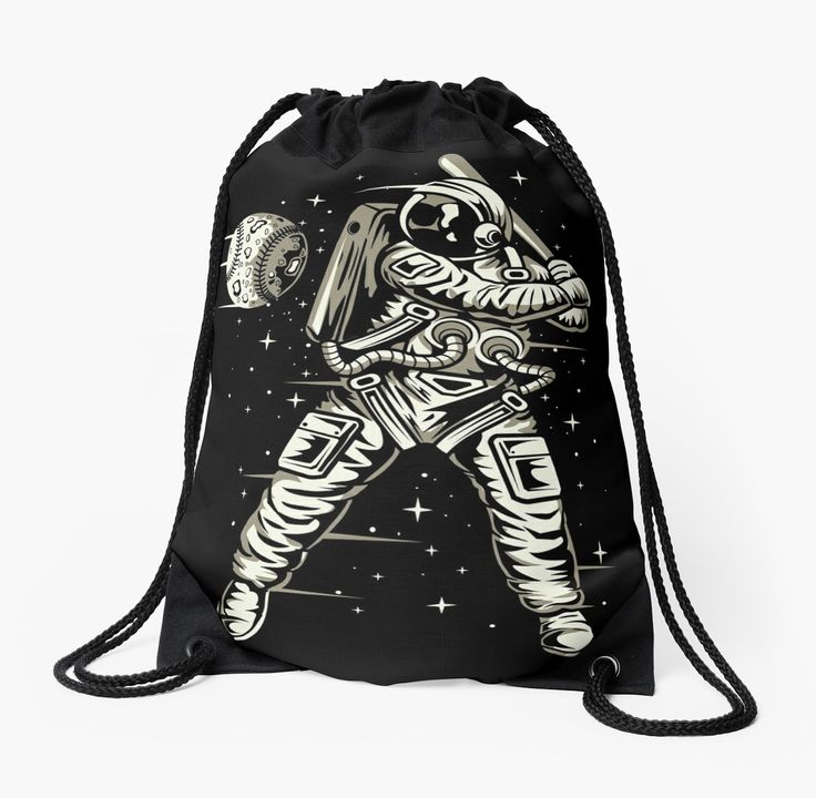 Space Baseball Astronaut • Also buy this artwork on bags, apparel, stickers, and more.
