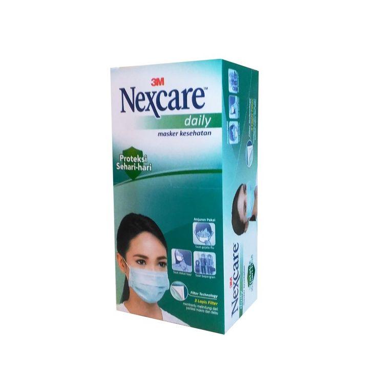 3M Nexcare Daily (Earloop) Mask (Masker), 1 ctn - Masker pelindung dari bahaya debu dan kotoran.  3M Nexcare Earloop Mask merupakan masker bebas alergi, mampu menyaring 99% partikel, debu, kotoran, dan mikroorganisme.     - Price per Ctn (12 box).  note : 1 box isi 12 bags - 1 bag isi 3 masker.  http://tigaem.com/grosir-per-case/1425-3m-nexcare-earloop-mask-masker-1-ctn.html  #nexcare #mask #masker #3M
