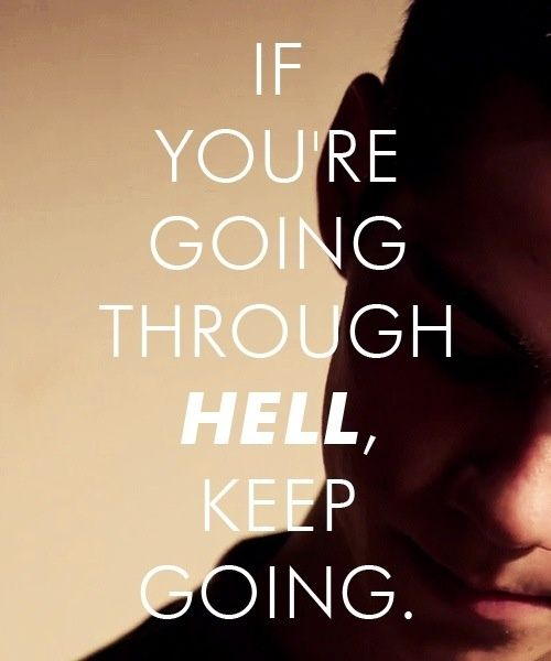 """Winston Churchill Quotes Ugly: """"If You Are Going Through Hell, Keep Going!"""" -Winston"""